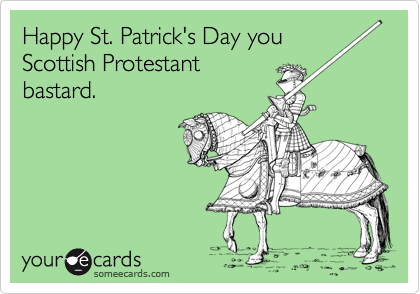 Happy St. Patrick's Day you