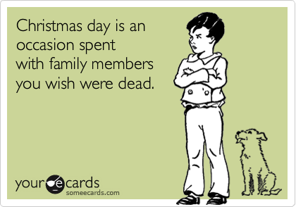 Christmas day is an