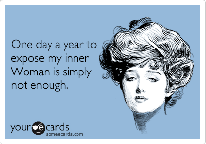 One day a year to