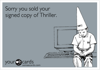 Sorry you sold your 