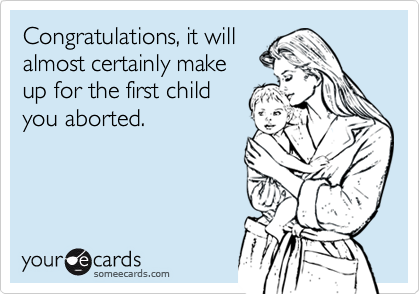 Congratulations, it will