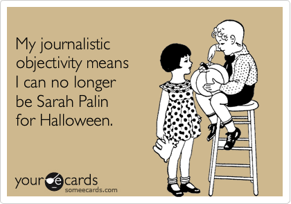 My journalistic