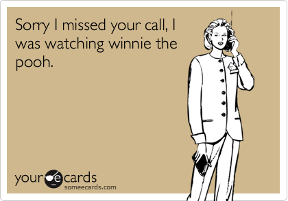 Sorry I missed your call, I