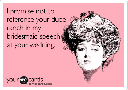 I promise not to