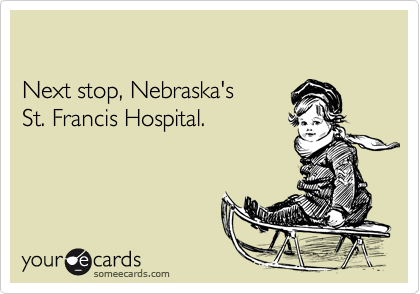 Next stop, Nebraska's 