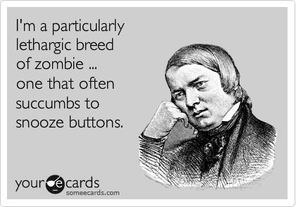 I'm a particularly 