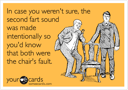 In case you weren't sure, the