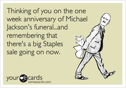 Thinking of you on the one