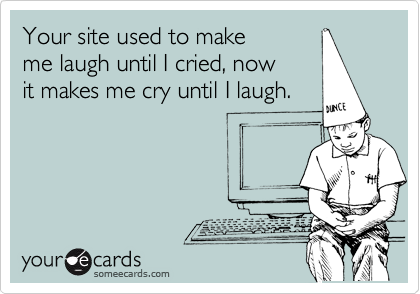 Your site used to make