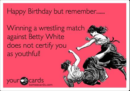 Happy Birthday But Remember Winning A Wrestling Match – Wrestling Birthday Cards