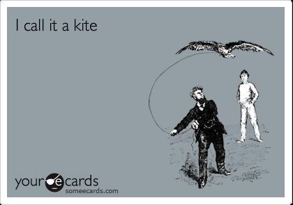I call it a kite
