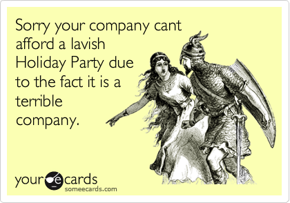 Sorry your company cant