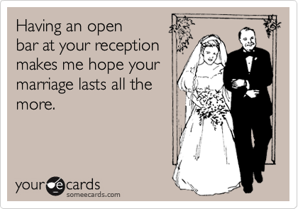 Having an open 