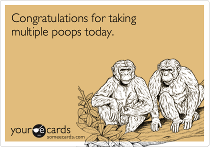 Congratulations for taking