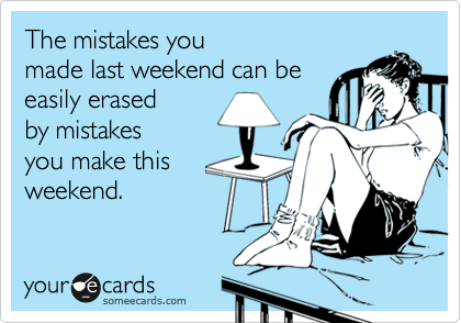 The mistakes you