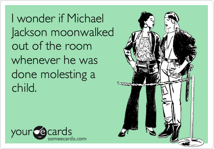 I wonder if Michael