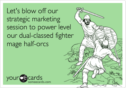 Let's blow off our