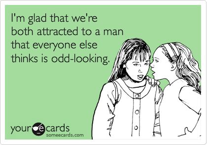 I'm glad that we're