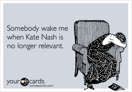 Somebody wake me