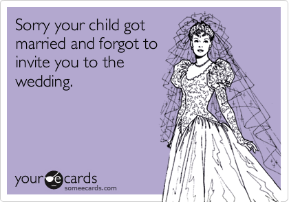 Sorry your child got