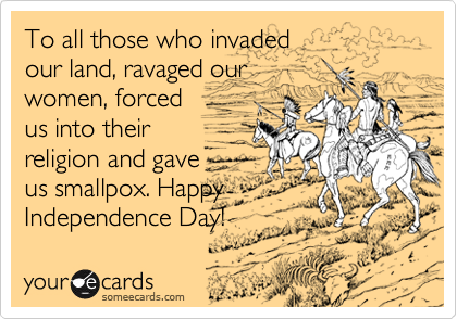 To all those who invaded