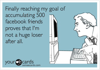 Finally reaching my goal of accumulating 500