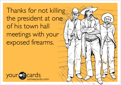Thanks for not killing