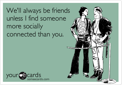 We'll always be friends