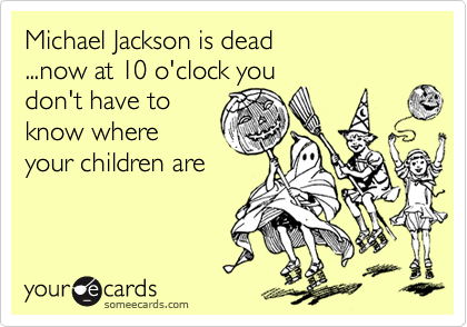 Michael Jackson is dead