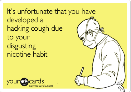 It's unfortunate that you have developed a