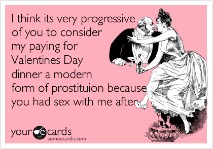 I think its very progressive