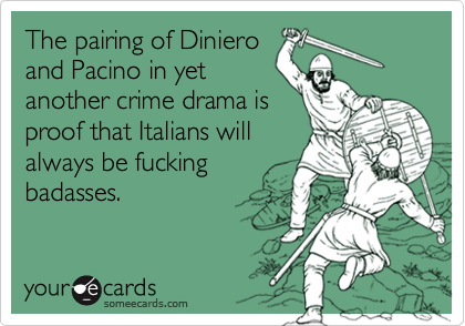 The pairing of Diniero