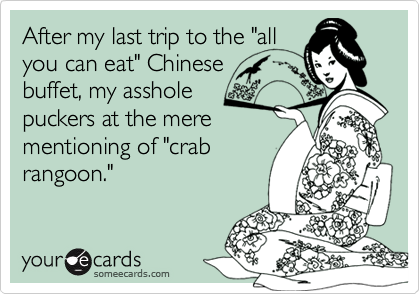 "After my last trip to the ""all