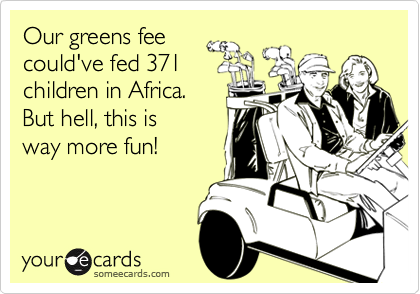 Our greens fee