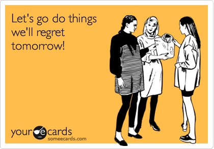 Let's go do things