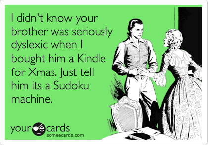 I didn't know your