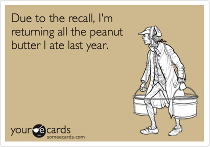Due to the recall, I'm