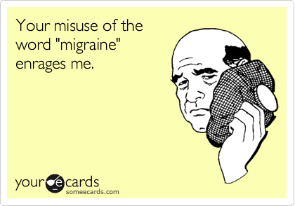 Your misuse of the