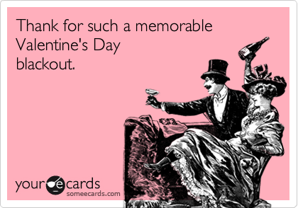 Thank for such a memorable Valentine's Day