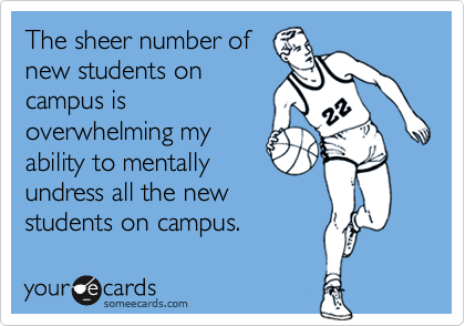 The sheer number of