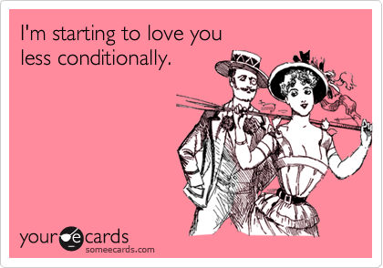 I'm starting to love you