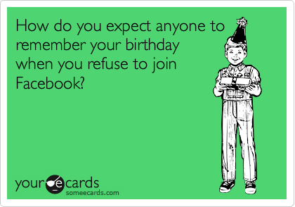How do you expect anyone to