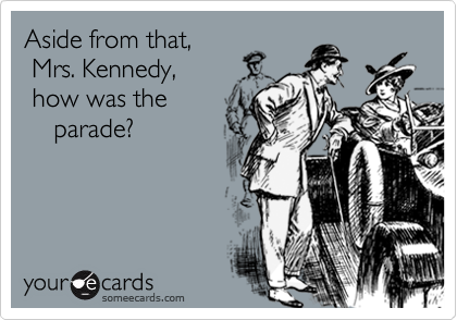 Aside from that, 