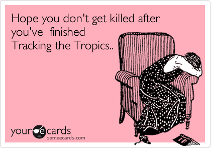 Hope you don't get killed after you've  finished 