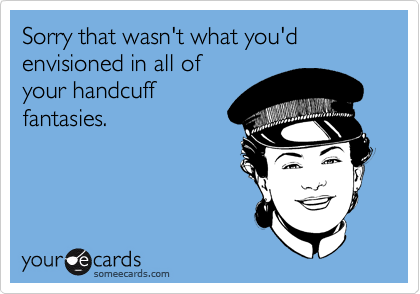 Sorry that wasn't what you'd envisioned in all of