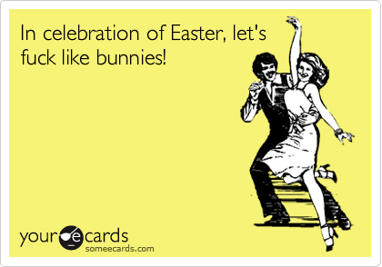 In celebration of Easter, let's