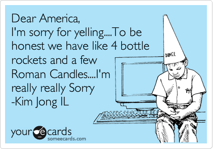 Dear America,