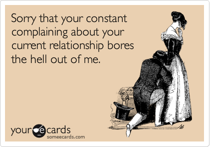 Sorry that your constant