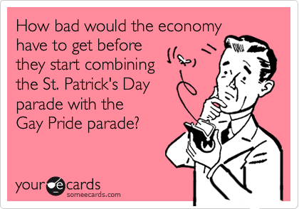 How bad would the economy 