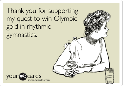Thank you for supporting
